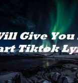 I Will Give You My Heart Tiktok Lyrics