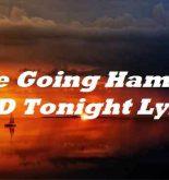 She Going Ham On My D Tonight Lyrics