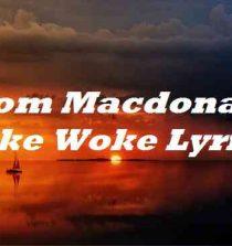 Tom Macdonald Fake Woke Lyrics