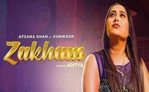 Zakham Lyrics Afsana Khan