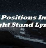 23 Positions In A 1 Night Stand Lyrics