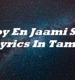 Enjoy En Jaami Song Lyrics In Tamil