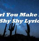 Girl You Make Me Shy Shy Lyrics