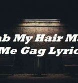 Grab My Hair Make Me Gag Lyrics
