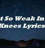 I Get So Weak In The Knees Lyrics