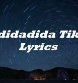 Ladidadida Tiktok Lyrics