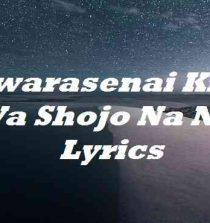 Sawarasenai Kimi Wa Shojo Na No Lyrics