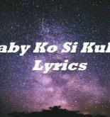 Baby Ko Si Kulot Lyrics