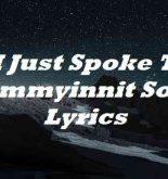 I Just Spoke To Tommyinnit Song Lyrics
