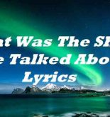 That Was The Show We Talked About Lyrics