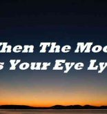 When The Moon Hits Your Eye Lyrics