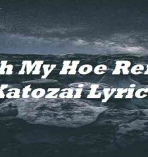 With My hoe Remix Katozai Lyrics