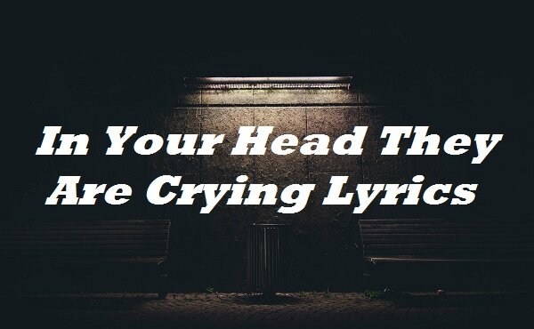 In Your Head They Are Crying Lyrics