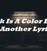 Pink Is A Color Blue Is Another Lyrics