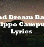Bad Dream Baby Hippo Campus Lyrics