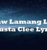 Ikaw Lamang Lagi Skusta Clee Lyrics