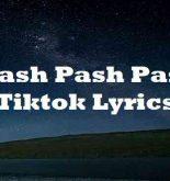 Pash Pash Pash Tiktok Lyrics
