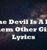 The Devil Is A Lie Them Other Girls Lyrics