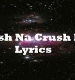 Crush Na Crush Kita Lyrics