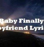 DaBaby Finally My Boyfriend Lyrics