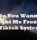 Do You Wanna Fight Me Frozen Tiktok Lyrics