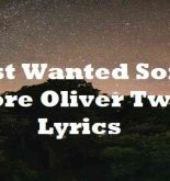 Just Wanted Some More Oliver Twist Lyrics