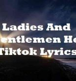 Ladies And Gentlemen Her Tiktok Lyrics