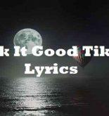 Lick It Good Tiktok Lyrics