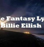 Male Fantasy Lyrics Billie Eilish