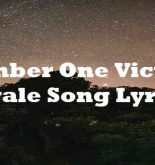 Number One Victory Royale Song Lyrics