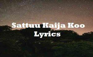 Sattuu Kaija Koo Lyrics