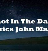 Shot In The Dark Lyrics John Mayer