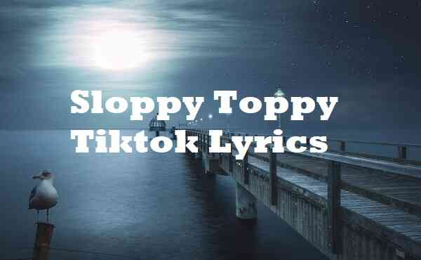 Sloppy Toppy Tiktok Lyrics