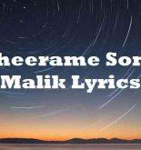 Theerame Song Malik Lyrics