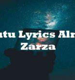 Tutu Lyrics Alma Zarza