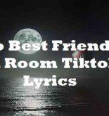 Two Best Friends In A Room Tiktok Lyrics