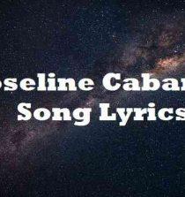 Joseline Cabaret Song Lyrics