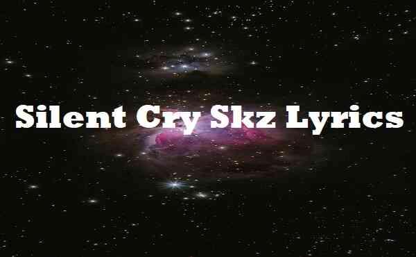 Silent Cry Skz Lyrics