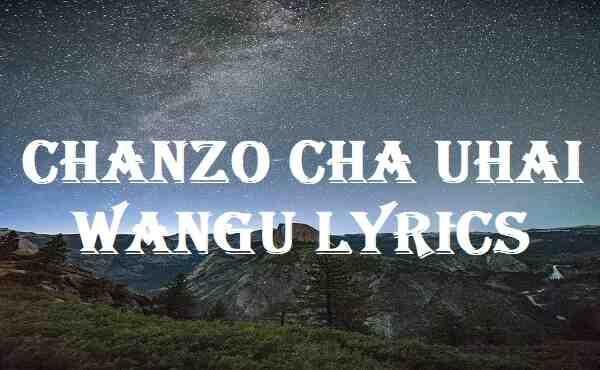 Chanzo Cha Uhai Wangu Lyrics