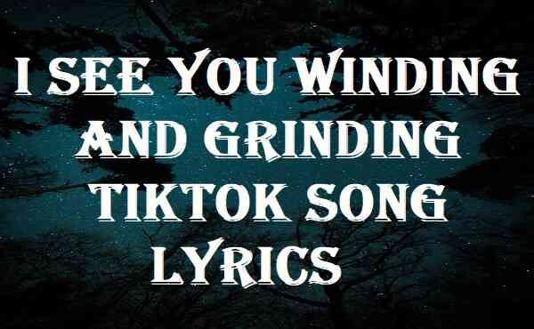 I See You Winding And Grinding Tiktok Song Lyrics