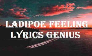 Ladipoe Feeling Lyrics Genius