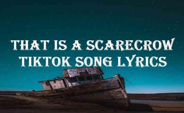 That Is A Scarecrow Tiktok Song Lyrics