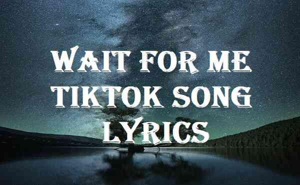 Wait For Me Tiktok Song Lyrics